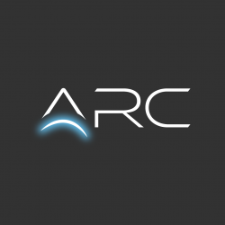 ARC logo with glow