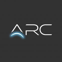 ARC logo with glow